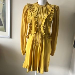 Isabel Marant Silk Dress Size 38/US Medium Mustard
